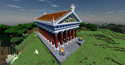 Temple of Mars Minecraft Map & Project