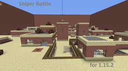 Sniper Battle for Minecraft 1.15.2 Minecraft Map & Project