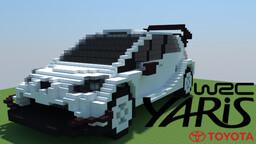 Toyota Yaris WRC Minecraft Map & Project