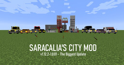 [1.12.2][Forge] Sarcalia's City Mod - v1.12.2-1.0.01 - The Biggest Update Minecraft Mod