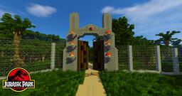 Jurassic Park Map (5.0) Minecraft Map & Project