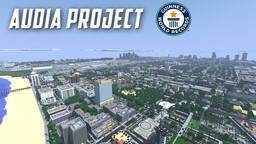 Audia Project: The World Record Size Minecraft City Minecraft Map & Project