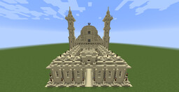 The White Crescent (Ramadan Mosque) Minecraft Map & Project