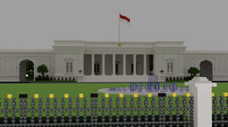 Istana Merdeka // Merdeka Palace Minecraft Map & Project