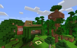 FarmVille - Luxury Treehouse Minecraft Map & Project