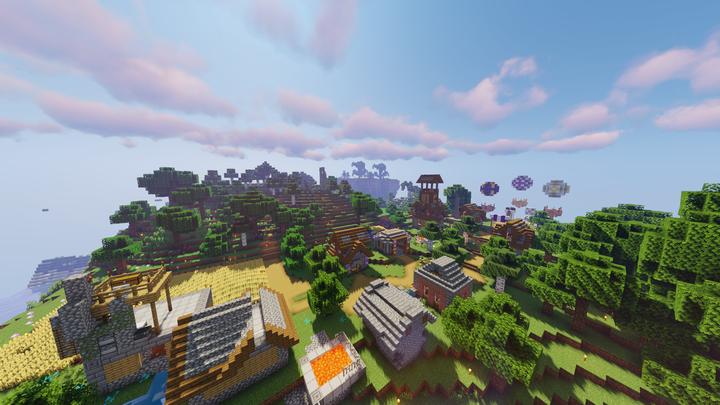 Popular Server Map : Western Ruins REBUILT INTO Mellohi Village!