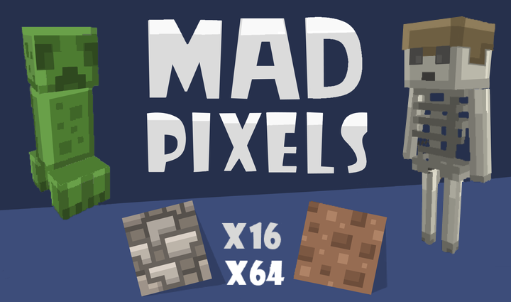 Mad Pixels for 1.17  [ x16/x64 ]