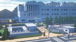 A Japanese High school (Recreation) 1.14.4 (May 25, 2020 Update) Minecraft Map & Project