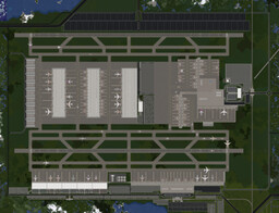 Mineopolis International Airport | Mineopolis | Huge Modern City | DOWNLOAD Minecraft Map & Project