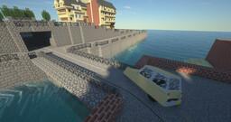 Un petit morceaux d'Haussmannien Minecraft Map & Project