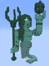 Porseidon Statue Minecraft Map & Project