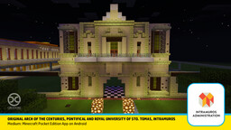 University of Santo Tomas, Manila (Original Structure in Intramuros) Minecraft Map & Project