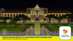 University of Santo Tomas, Manila (Original Structure in Intramuros) Minecraft Map & Project