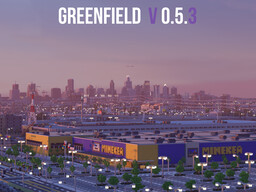 Greenfield - The Largest City In Minecraft - V0.5.3 OUT NOW Minecraft Map & Project