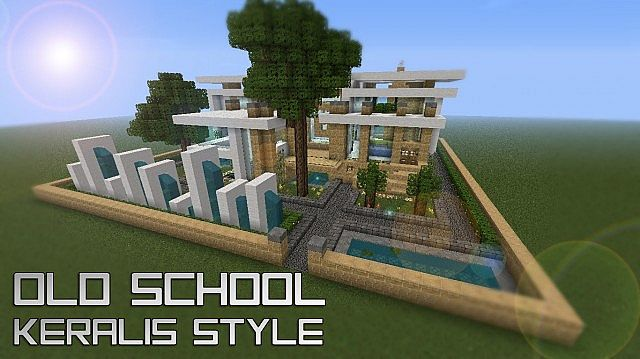 Old school keralis style minecraft project for Keralis modern house 9 part 1