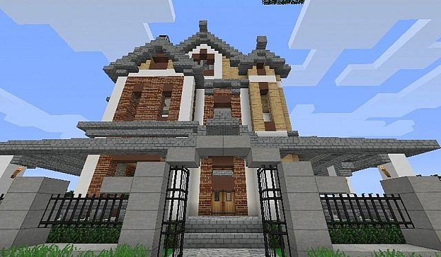 Victorian House Collab Minecraft Project