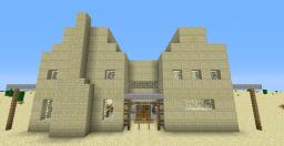 Desert oasis Minecraft Project