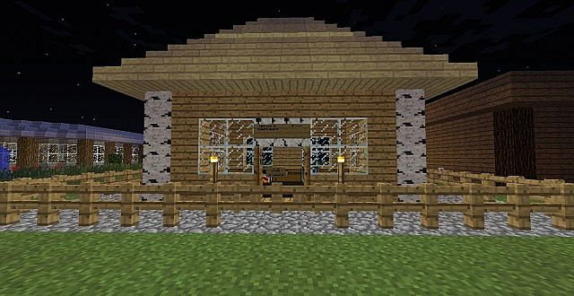 Old School Building Minecraft Project