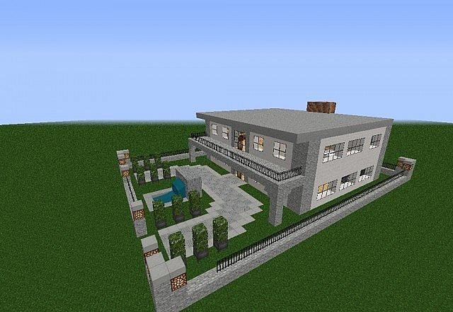 Minecraft Modern Villa Minecraft Project
