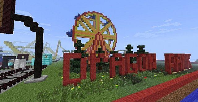 Minecraft Dragon Park (Theme Park) Minecraft Project  Minecraft Drago...