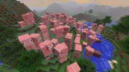 Crazy Pigs [Discontinued] [1.4.7] Minecraft Mod