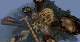Wooden Palace Minecraft Map & Project