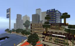 Downtown project and skyscrapers Minecraft Project