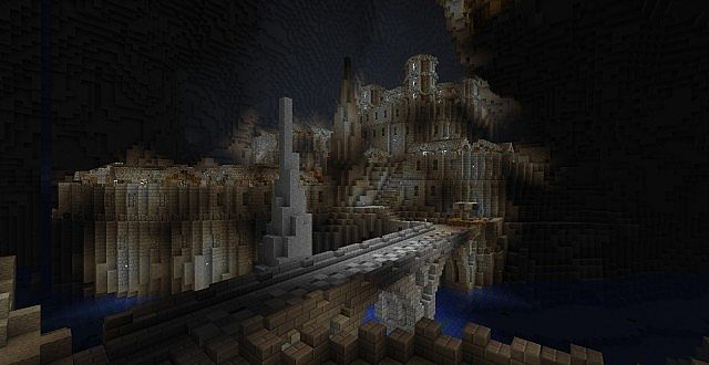 Abandoned Dwarven City (Caved in Contest) Minecraft Project