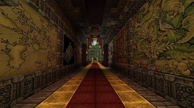 Castle Horror Adventure Map Minecraft Project