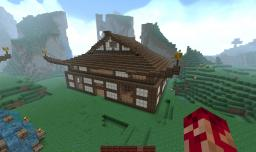 Japanese Buildings Minecraft Map & Project