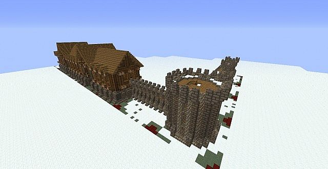 medieval pack 1 walls for mc edit with schematic downloads rh planetminecraft com wall schematic berlin wall schematic