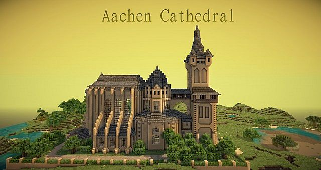 Aachen Cathedral Minecraft Project