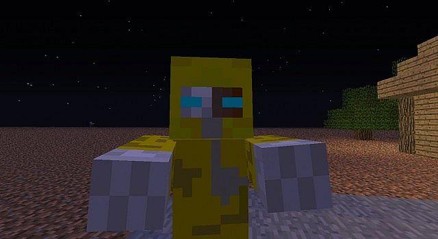 Hazmat Suit Zombie