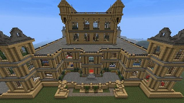 Mentmore Towers - Bruce Wayne Batman Minecraft Project