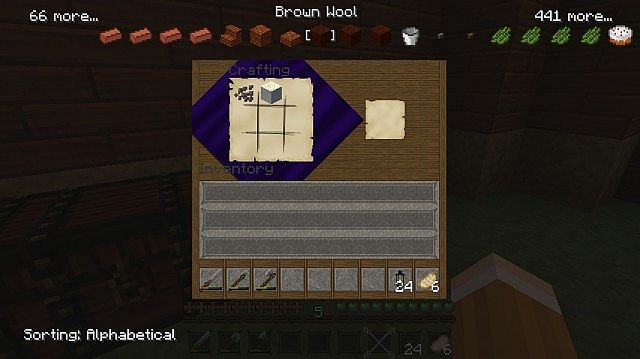 Sort the recipes! Texture pack friendly! texture pack is Steelfeathers Enchanted