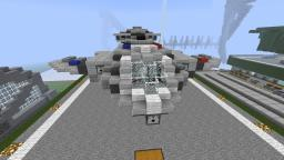 Halo ODST UNSC Police Pelican Minecraft Map & Project