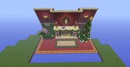 A Christmas Fireplace Minecraft Map & Project