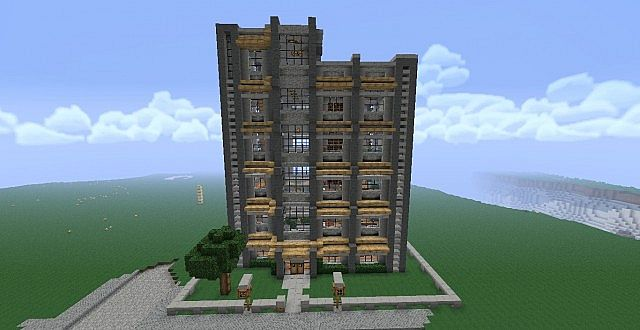 Apartment Complex Minecraft Project