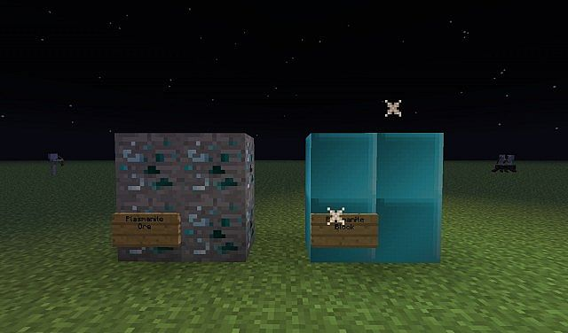 Plasmanite Ores and Plasmanite Blocks