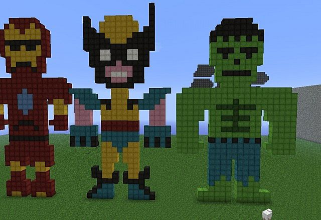 How To Build Thor In Minecraft