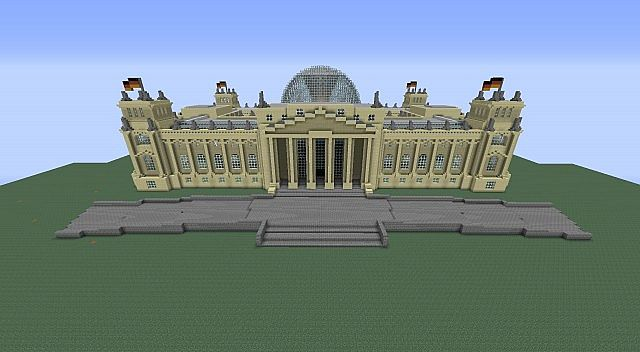 The Reichstag Germany Minecraft Project