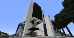 Club Black & White and Hotel NASA - Ultra modern skyscrapercomplex Minecraft Map & Project