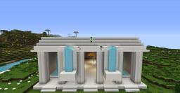 Quartz Temple Minecraft Map & Project