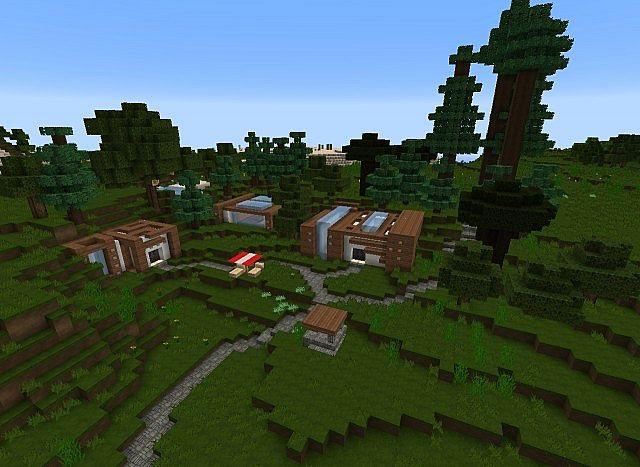 Modern hobbiton w i p based off of glamrgirl2 39 s hobbit for Modern hobbit house