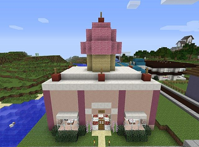 Sweet stuff bakery minecraft project for Explore craft survival pe