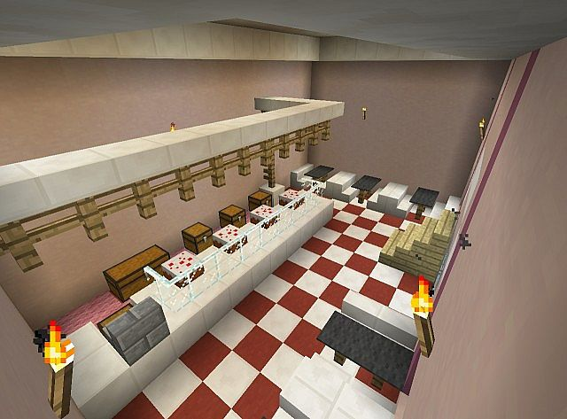 Images of Minecraft Bakery Hospital - #rock-cafe