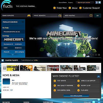 This Is Our Hosting Company www.fluctishosting.com this will be there new site soon