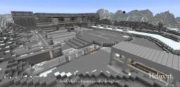 Released! [Metal Gear Solid] MGS Shadow Moses Island re-imagined in Vanilla Minecraft. Minecraft Map & Project