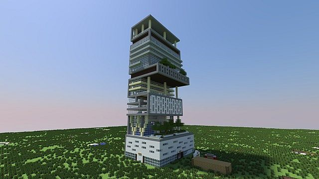The Tallest Building In Minecraft
