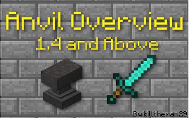 How To Craft A Very Damaged Anvil In Minecraft